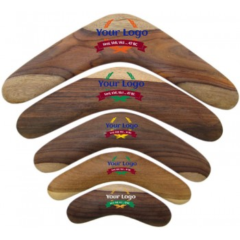 Promotional Boomerang, 6 inch, wood