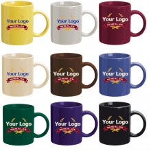 Promotional Coffee Can Mugs Single Color MG7168