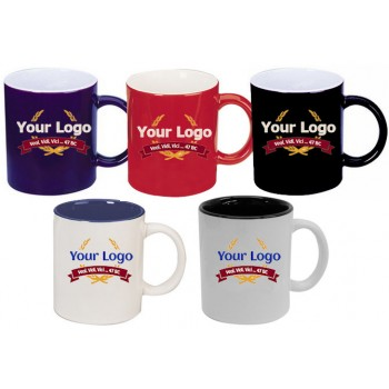 Promotional Coffee Can Mugs Two-Tone MG7169