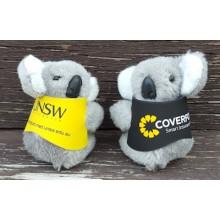 Clip-on Koala Toys in Corporate Jackets